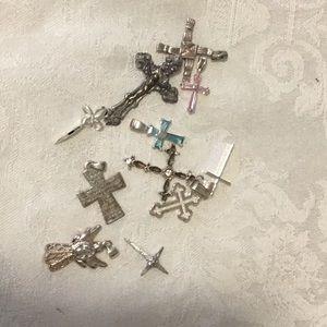 Cross pendants#618R